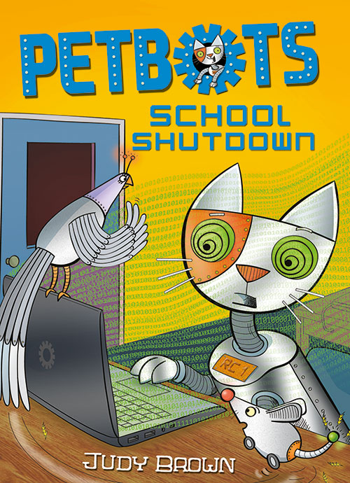 Petbots 2 School Shutdown, cover.