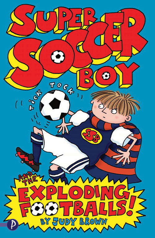 Super soccer Boy 1, book cover.