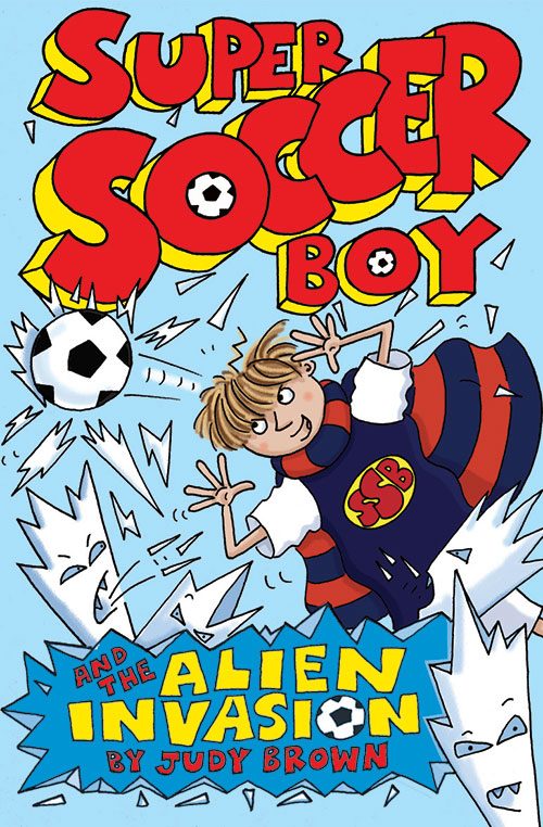 Super soccer Boy 5, book cover.