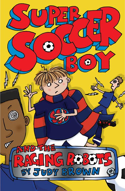 Super soccer Boy 7, book cover.