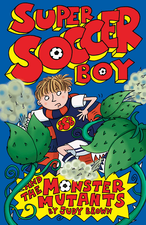 Super soccer Boy 8, book cover.