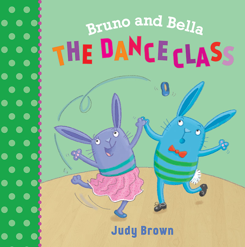 Bruno and Bella The Dance Class book cover.
