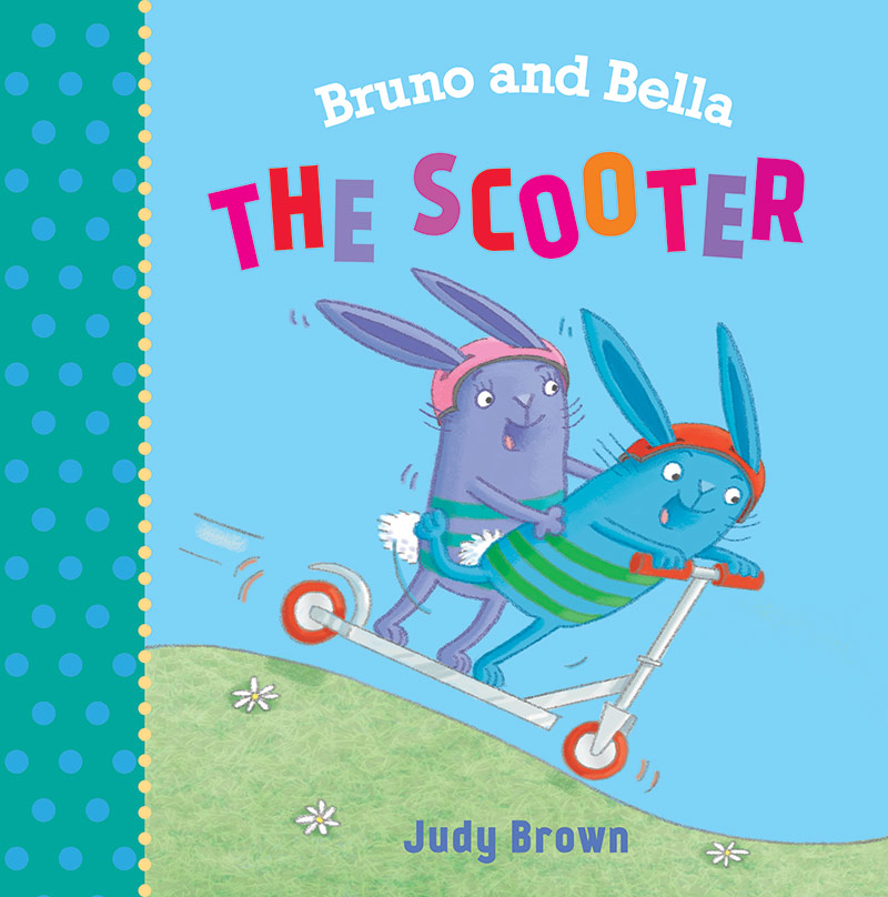 Bruno and Bella The Scooter book cover.
